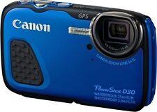 Canon PowerShot Blue Digital Cameras