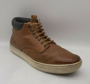 Mens TIMBERLAND Adventure 2 A12DW Size 8 UKWheat Leather Laced Chukka Boots VGUC