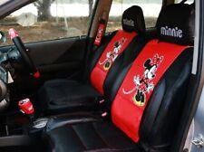Minnie Mouse Auto Sitzbezüge Premium Limited Edition Kunstleder (Paar) .Super