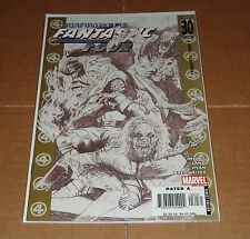 Ultimate Fantastic Four #30 Greg Land Sketch Variant Edition 1st Print