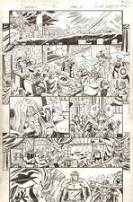 Deadpool #1 p.15 - Deadpool, Thor, Sif, Valkyrie, & Others art by Scott Koblish Comic Art