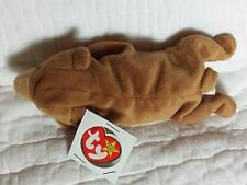 NWT Ty Beanie Baby 4th / 3rd Gen 1993 CUBBIE the brown bear, price tag residue