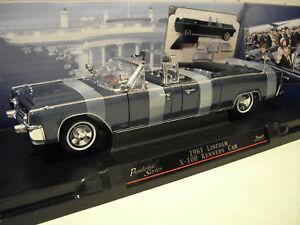 LINCOLN X-100 KENNEDY CAR 1961 PRESIDENTIAL au 1/24 ROAD 24048 voiture miniature