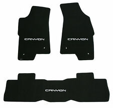LLOYD MATS Classic Loop™ 3pc FLOOR MAT SET 2004-2012 GMC Canyon Crew Cab