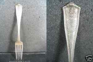 Winthrop by Shreve Sterling Silver Regular Fork 6 78 Flatware