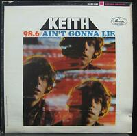 KEITH 98.6 / ain't gonna lie LP VG SR 61102 Red Label Vinyl  Record