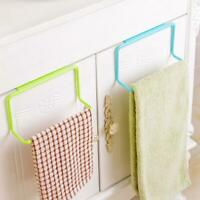 Over Door Towel Rack Bar Hanging Holder Rail Organizer new hot Bathroom E7T5