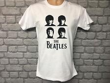 La música de los Beatles Camiseta Camiseta Diseño Retro de Moda ropa 1