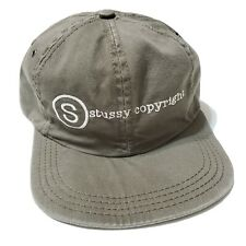 1990s Stussy Copyright Authentic Caps Usa Made Vintage Skateboard Hatz
