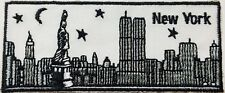 Embroidered New York City Skyline Patch -- Iron/Sew-on Patch. + Free Shipping