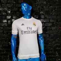 Real Madrid Jersey Home football shirt 2015-2016 White Adidas S12652 Mens Size M
