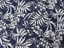 Ralph Lauren Cortina Tela 'Westinghouse Floral' 2.4 metros (240cm) Azul Marino Resort