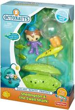 Fisher-Price Octonauts Shellington & The Swell Shark Playset - Works in Water