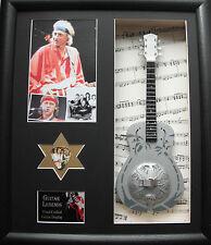 Dire Straits Replica  Framed Guitar & Plectrum Presentation