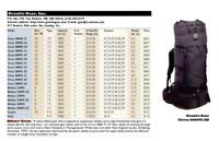 Granite Gear Cirrus 6000 TL Carbon Fiber internal frame pack