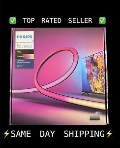 """🔥NEW Philips Hue Play Gradient LED Backlight Lightstrip for 65"""" - 75"""" TVs 🔥"""