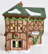 Dept 56 Dickens Village - T. Puddlewick Spectacle Shop 58331 Retired W/ No Sign