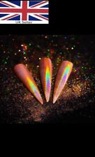 Champagne RoseGold Mirror Dust- Holographic Nail Glitter Powder 0.5g Born Pretty