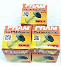 Fram CH10415 Lot of 3 Engine Oil Filters Fits Volvo 3.0 3.2 S80 XC90 Rover R2