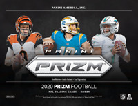 2020 Panini Prizm Football Hobby - PICK YOUR TEAM BREAK #1 - TWO HOBBY BOXES