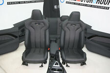 BMW F82 M4 Sport Seats Interior Fabric Leather Trim