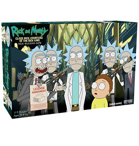 CLOSE RICK COUNTERS OF THE RICK KIND DECK BUILDING: RICK AND MORTY adult swim