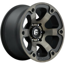 """Fuel D564 Beast 18x9 6x5.5"""" +20mm Black/Machined/Tint Wheel Rim 18"""" Inch"""
