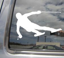 Alpine Downhill Skiing - Skis Cross-country Car Window Vinyl Decal Sticker 04157
