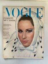 November 15, 1965 Vogue Magazine- RARE AND BEAUTIFUL