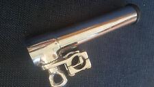 Porte cannes INOX Orientable 360° Étrier pour tubes 28 et +
