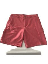 """NEW IZOD Saltwater Men's Size 34 Relaxed Stretch Comfortable 9.5"""" Inseam Shorts"""