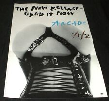 ARCADE RATT A/2 STEPHEN PEARCY  RARE IN STORE PROMO POSTER EXPLICIT SEXY