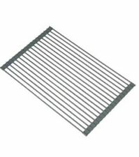 MARQUEE SINK ROLL MAT KITCHEN DRYING RACK COUNTER TOP EXTENSION GREY NON SLIP
