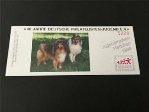 GERMANY BOOKLET 1996 MNH DOGS COLLIE RARE!! m2444