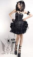 Gothic Abendkleid mit Damenkleider im