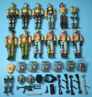 Lot 1980s GI Joe Dreadnok Body Piece Parts Accessory Zartan Monkeywrench Torch