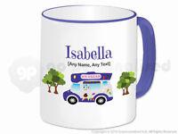 Personalised Gift Ice Cream Van Mug Cone Scoop Driver Vendor Novelty Present #1