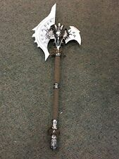 Shadowmourne AXE 1:1 replica new hot Arthas ,Lich King Frostmourne Costume 45""