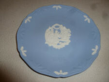 Vintage Wedgewood Plate Jasperware Christmas 1994 Away In A Manger Blue