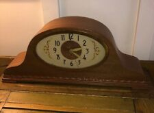Revere Telechron Westminster Chime electric mantle clock Mahogany case 1940s-50s