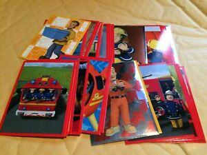 50x Fireman Sam Stickers PANINI 2017 Reward Party Bag Filler