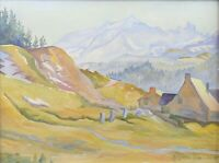 Margarita Classen-Smith (Xx) Landscape Alpine Hsp Saint Petersburg Provence