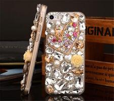 Glitter Luxury Crystal Bling Rhinestone Diamonds Soft TPU Gel Case Cover BO-3