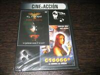 Il Corvo Città De Angeles - Cyborg 2 DVD Sigillata Nuovo