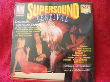 V. A. - Supersound Festival Greger, Kaempfert, Peter Thomas Karussell LP OVP NEU