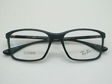 NEW Authentic Ray Ban RB 7036 5440 LITEFORCE Matte Dark Green 55mm RX Eyeglasses