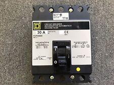 SQUARE D CIRCUIT BREAKER 30 AMP 480V 3 POLE FCP34030