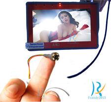 With Power AHD 720p HD smallest mini spy hidden micro Nanny Night vision camera