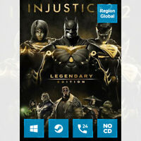 Injustice 2 Legendary Edition for PC Game Steam Key Region Free