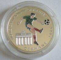 Somalia 100 Shillings 2001 Fußball-WM in Deutschland Silber
